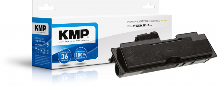 KMP K-T2 Toner ersetzt Kyocera TK17