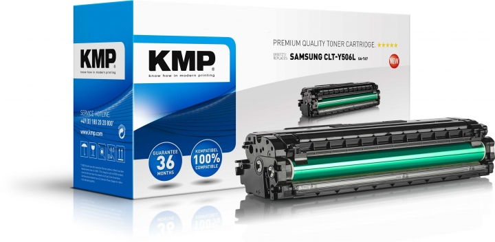 KMP Toner SA-T67 ersetzt Samsung Y506L (CLTY506LELS)-Copy