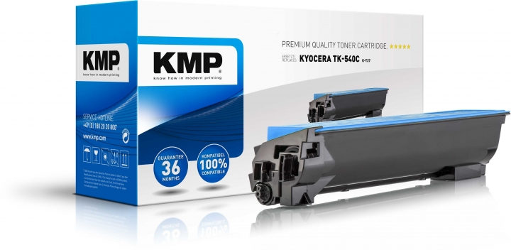 KMP K-T27 Toner ersetzt Kyocera TK540C