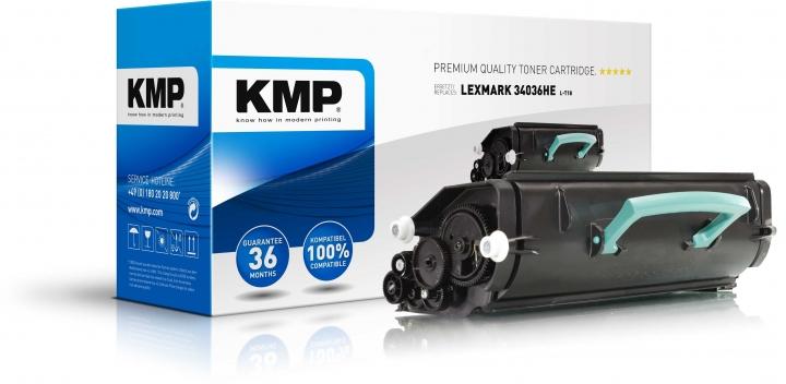 KMP L-T18 Toner ersetzt Lexmark (34036HE)