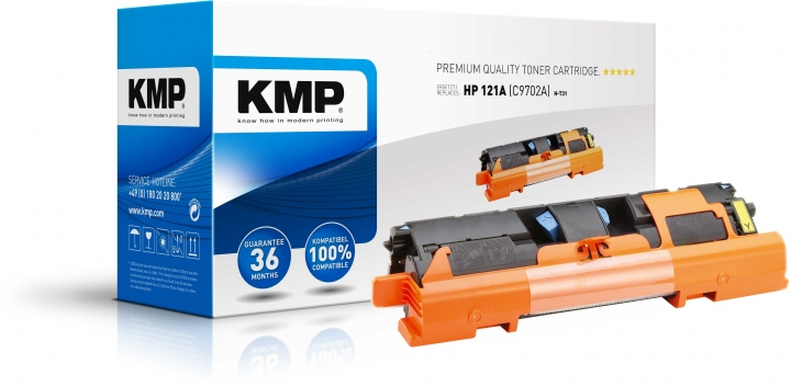 KMP H-T31 Toner ersetzt HP 121A