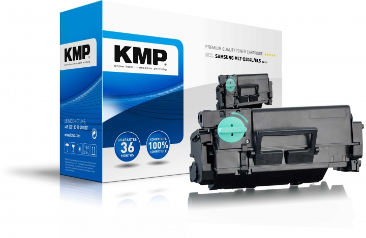 KMP SA-T87 Toner Schwarz ersetzt SAMSUNG 304L (MLTD304LELS)