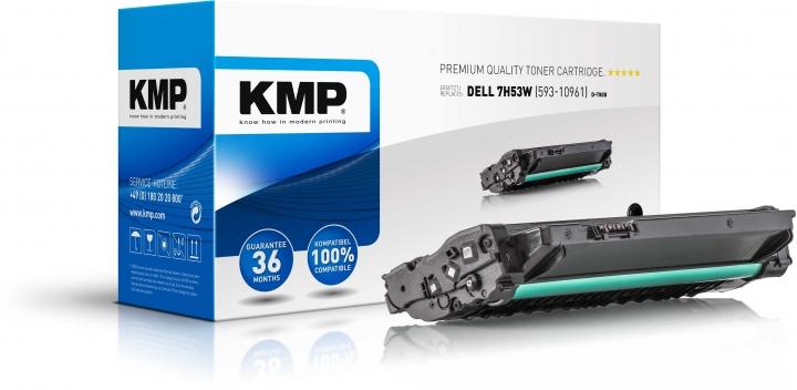 KMP D-T80B Toner Schwarz ersetzt DELL 7H53W (593-10961)