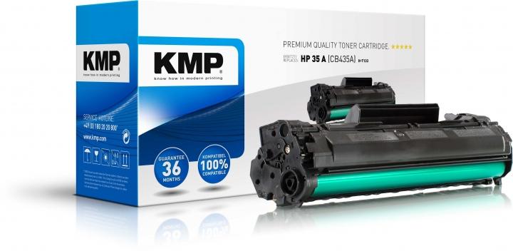 KMP H-T133 Toner ersetzt HP 35A (CB435A)