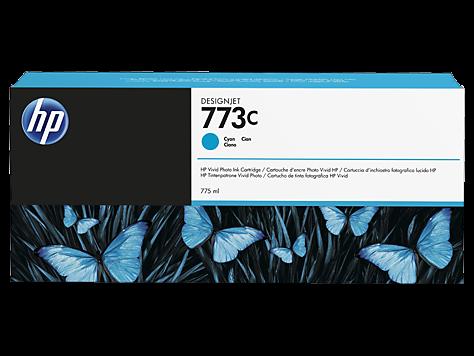 HP 773C Original Tintenpatrone Cyan C1Q42A 775ml