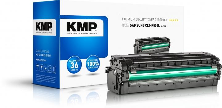 KMP SA-T95B Toner Schwarz ersetzt Samsung K505L (CLTK505LELS)