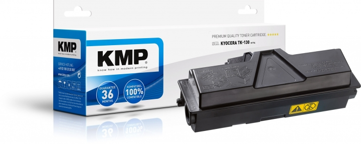KMP K-T14 Toner ersetzt Kyocera TK130