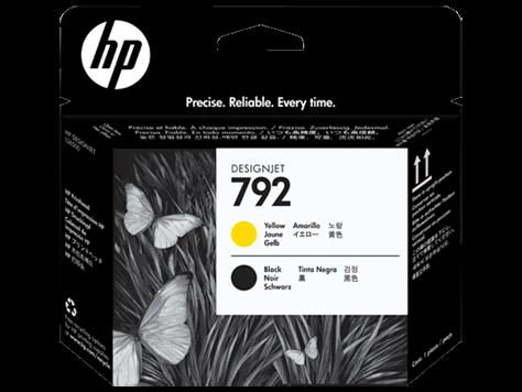HP 792 gelb /schwarz Original Druckkopf