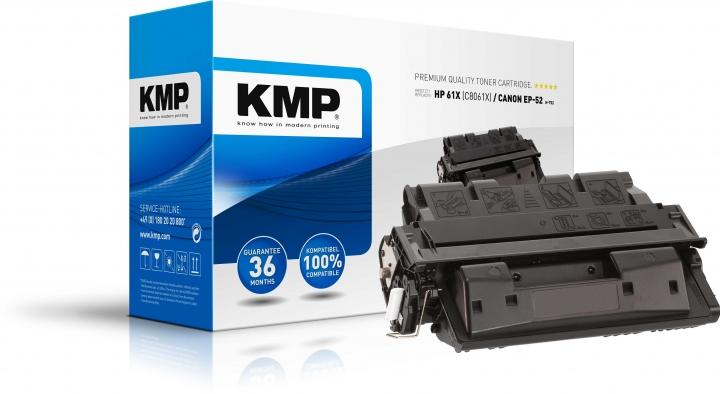 KMP H-T52 Toner ersetzt HP 61X (C8061X)