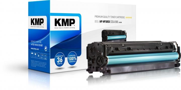 KMP H-T157 Toner ersetzt HP 305X (CE410X)