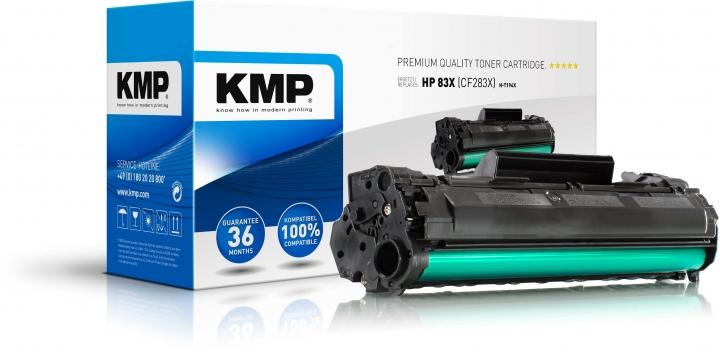 KMP H-T194X Toner Schwarz ersetzt HP 83X (CF283X)