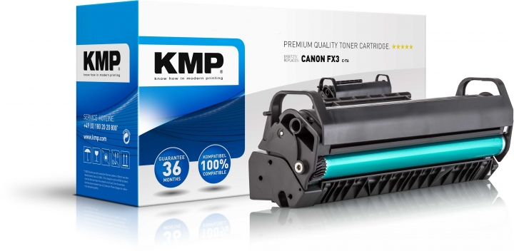 KMP C-T6 Toner Schwarz ersetzt Canon FX3 (1557A003)