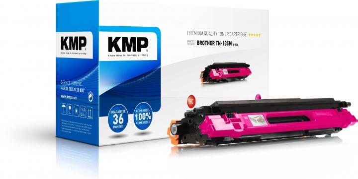 KMP B-T26 Toner für Brother TN-135 magenta / HL-4040/4070/MFC-9440/9840/DCP-9040 magenta