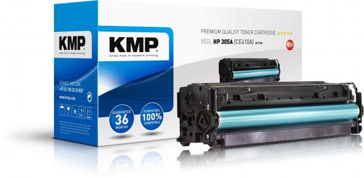 KMP H-T196 Toner ersetzt HP 305A (CE410A)