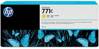 HP Nr. 771c Tinte gelb (B6Y10A) 775ml - ohne Umverpackung