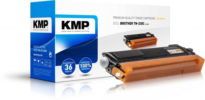 KMP B-T33 Toner für Brother TN-230 cyan