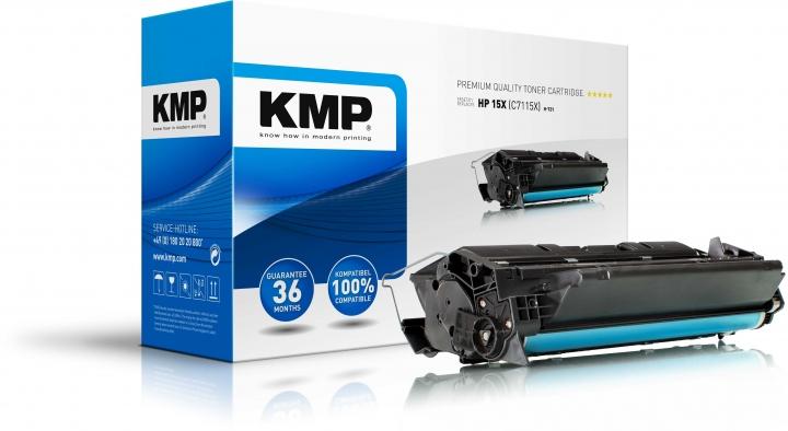 KMP H-T21 Toner ersetzt HP 15X (C7115X)
