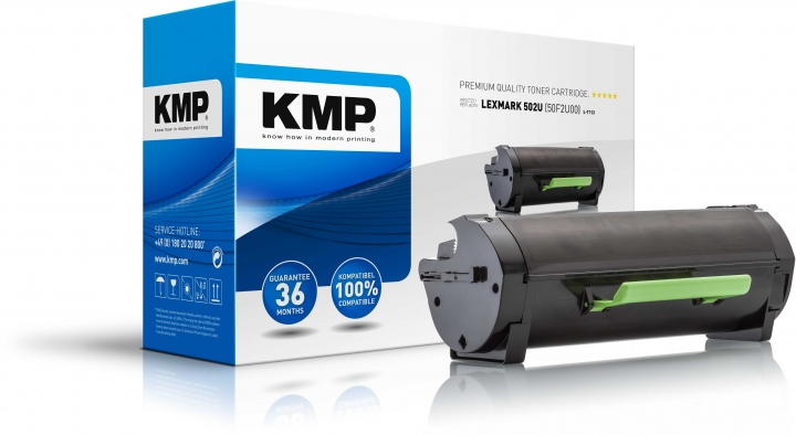KMP L-T113 Toner Schwarz ersetzt Lexmark 502UA (50F0UA0)
