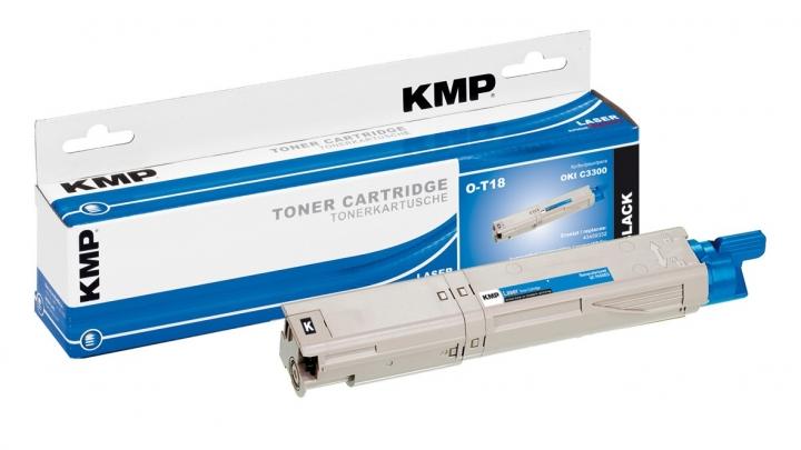 KMP O-T18 Toner ersetzt OKI 43459332