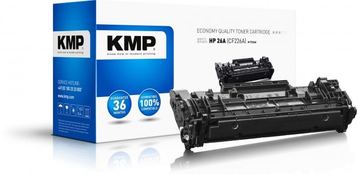 KMP Toner H-T224A Schwarz ersetzt HP 26A (CF226A)