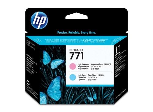 HP 771 Magenta hell / Cyan hell DesignJet Druckkopf