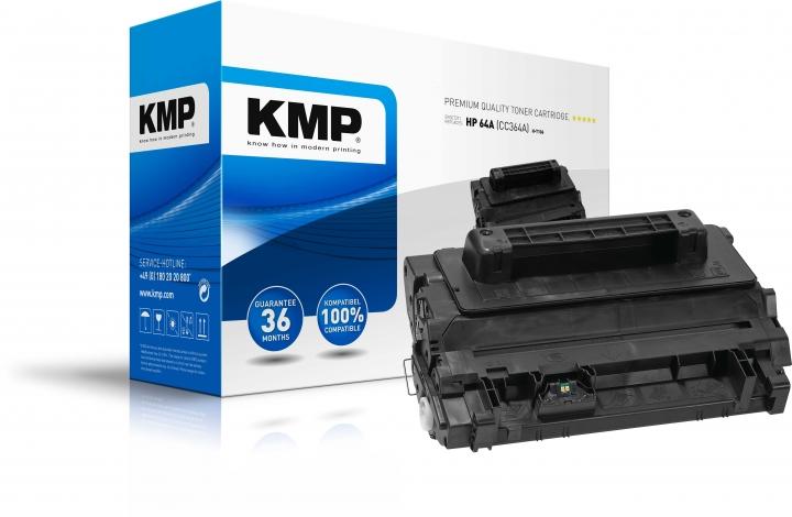 KMP H-T106 Toner ersetzt HP 64A (CC364A)