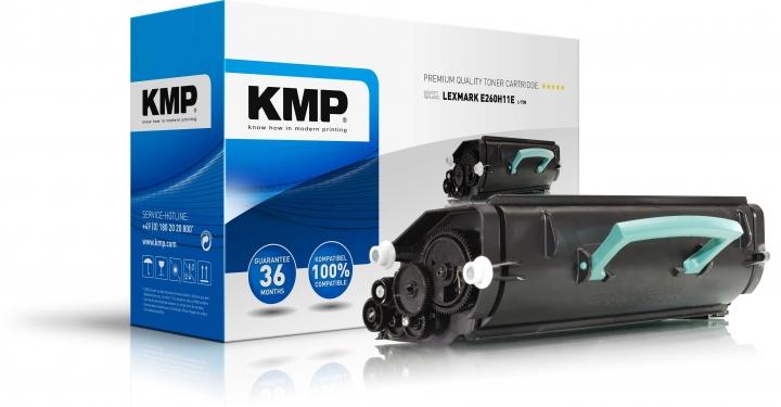 KMP L-T30 Toner ersetzt Lexmark (E260A11E)