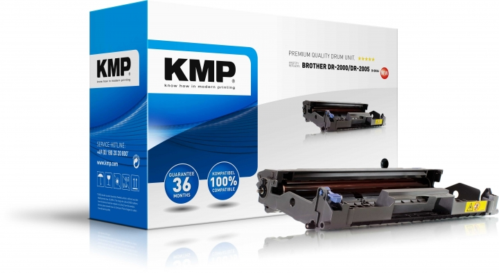 KMP B-DR24 Trommel ersetzt Brother DR2000 / DR2005