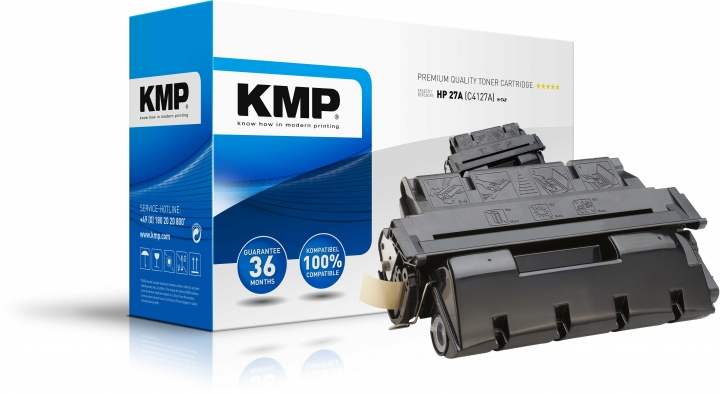 KMP H-T49 Toner ersetzt HP 27X (C4127X)