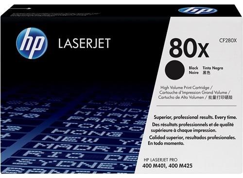 HP 80X - CF280X - Toner hohe Kapazität