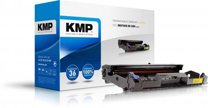 KMP Trommel für Brother DCP-7010/Fax-2820/HL-2030/MFC-7225 black