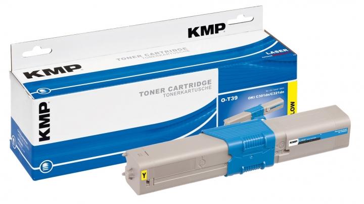 KMP O-T39 Toner ersetzt OKI (44973533)