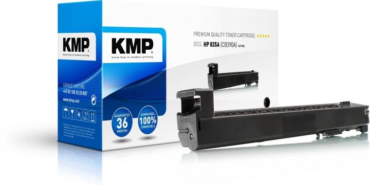 KMP H-T178 Toner Schwarz ersetzt HP 825A (CB390A)