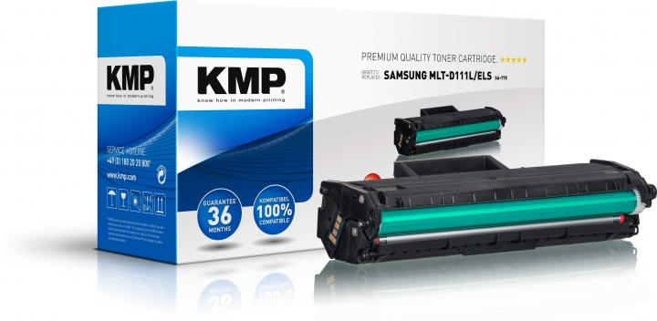 KMP SA-T75 Toner Schwarz ersetzt Samsung 111L (MLTD111LELS)