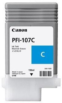 Canon Tinte cyan PFI-107C 130ml