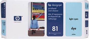 HP 81 Druckkopf + Reiniger hell magenta No.81