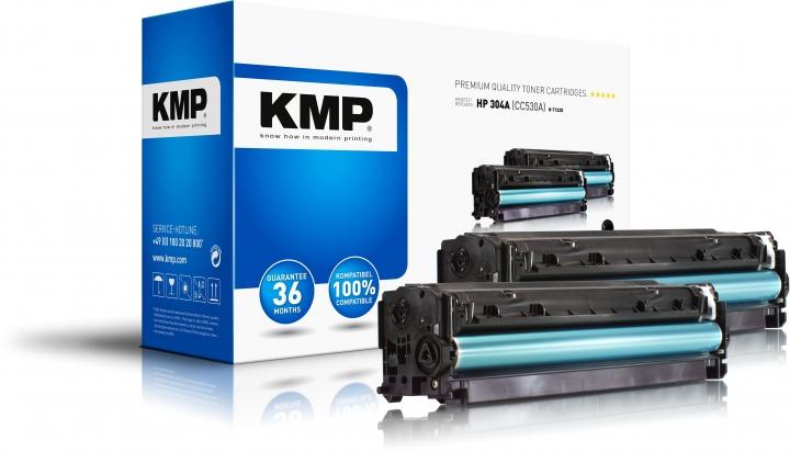 KMP H-T122D Toner Doppelpack Schwarz ersetzt HP304A (CC530A)