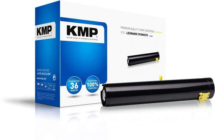 KMP L-T104Y Toner Gelb ersetzt Lexmark C930H2YG