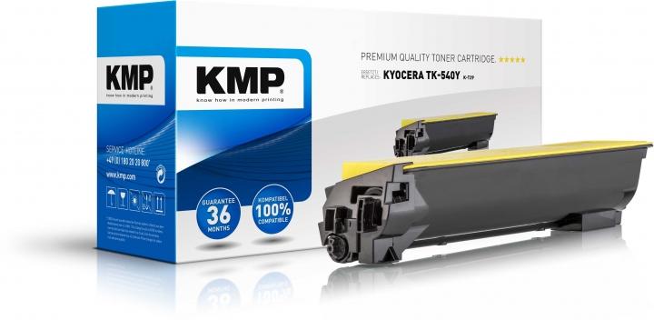 KMP K-T29 Toner ersetzt Kyocera TK540Y