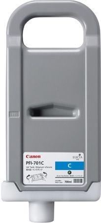 CANON Tinte PFI-701C cyan 700ml iPF8000/9000/8100/9100