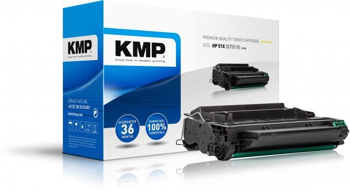KMP H-T94 Toner ersetzt HP 51X (Q7551X)