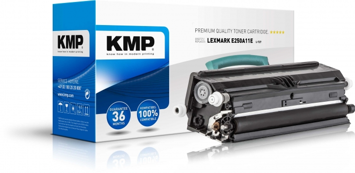 KMP L-T27 Toner ersetzt Lexmark (E250A11E)
