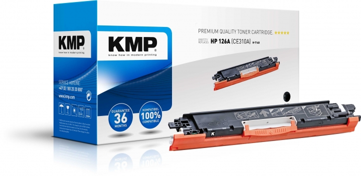 KMP H-T148 Toner fersetzt HP 126A (CE310A)