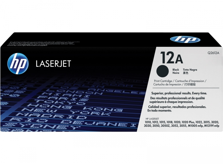 Toner HP Q2612A, Nr 12A schwarz 2000 Seiten