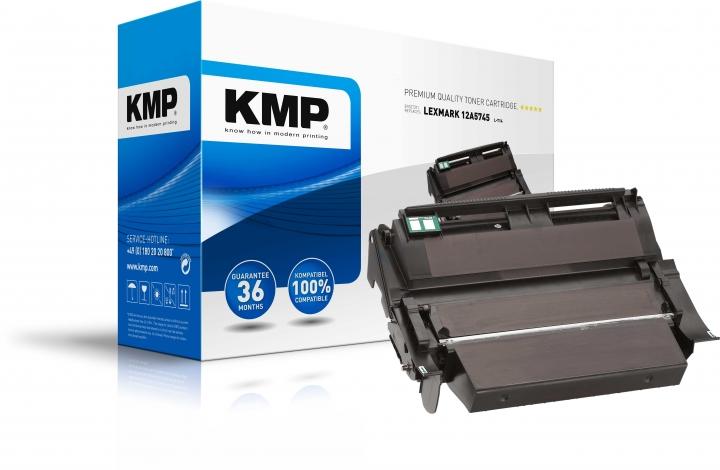 KMP L-T14 Toner ersetzt Lexmark (12A5745)