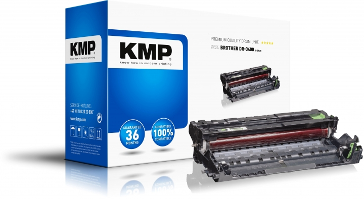 KMP Trommel B-DR28 ersetzt Brother Brother DR3400