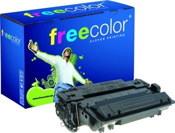 Freecolor Toner Rebuilt für HP LJ P3015X schwarz ca. 12.500 Seiten
