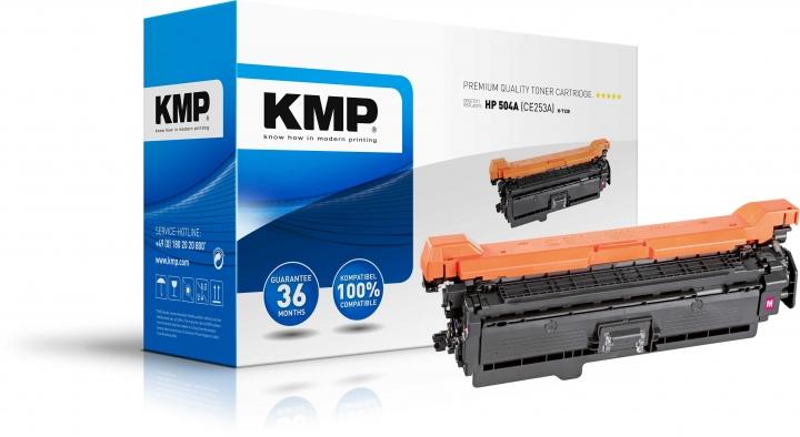 KMP H-T128 Toner ersetzt HP 504A (CE253A)