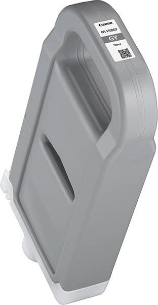 CANON Tinte PFI-1700GY grau 700ml iPF PROx000/x000S 0781C001AA