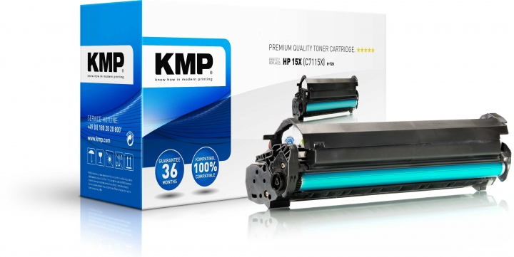KMP H-T20 Toner ersetzt HP 15X (C7115X)